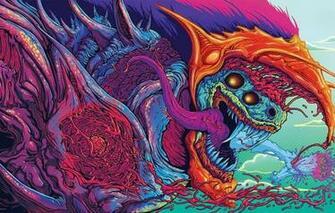Wallpaper figure art beast killer Hyper Beast images for
