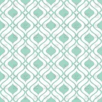 green and white wallpaper with seamless geometric pattern vector