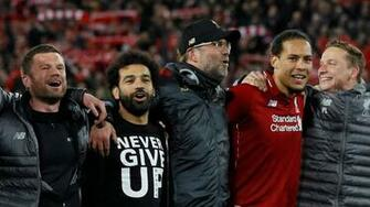 Liverpool vs Barcelona in pictures Messi Salah and the best