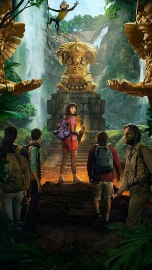 Dora and the Lost City of Gold 2019 Phone Wallpaper Moviemania