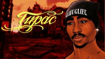 Tupac wallpaper by DorukSilleli