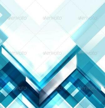 Blue Modern Geometric Abstract Background   Backgrounds Decorative