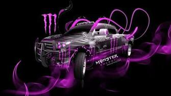Monster Energy Toyota Tundra Fantasy Plastic Car 2014 el