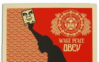 obey ak47 shepard fairey 1556x2263 wallpaper Art HD Wallpaper download