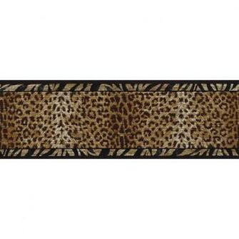 roth 6 34 Black And Gold Animal Print Prepasted Wallpaper