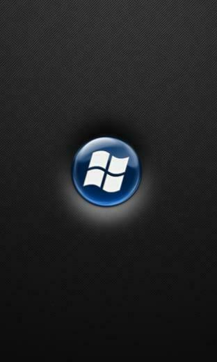 Blue Windows Wallpaper for Windows Phone 7   Hellaphone