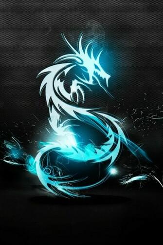 Dragon neon wallpaper iPhone4 download