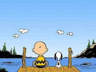 Charlie Brown And Snoopy computer desktop wallpapers pictures