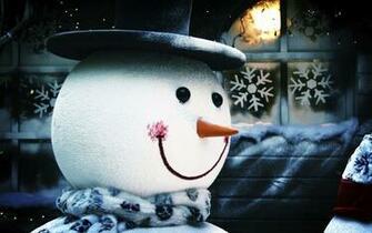 Pics Photos   Girl Kissing A Snowman Winter Hd Wallpaper