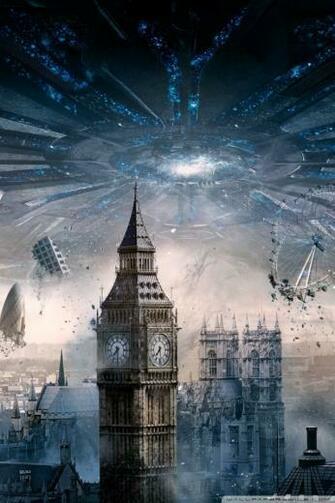 Independence Day Resurgence London 4K HD Desktop Wallpaper for