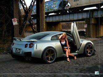 Download wallpaper machine Car girl desktop wallpaper in the