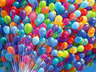 Colorful House Air Balloons HD Wallpaper 6555