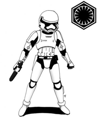 First Order Stormtrooper by JohnnyFive81