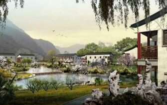 1024x640 chinese village wallpaper 1152x720 chinese village wallpaper