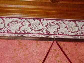 crown molding and wallpaper Flickr   Photo Sharing