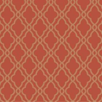 Wallpaper Geometric Metallic Hampton Trellis Wallpaper