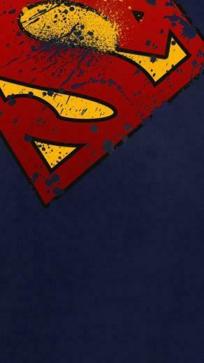 Superman Shield Wallpapers for Phone