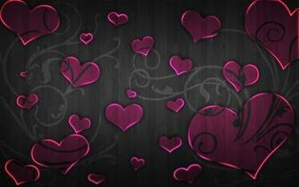 Pink And Black Heart Wallpaper Images Pictures   Becuo