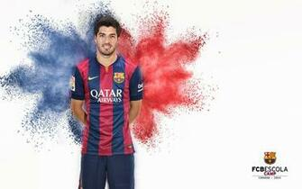 Luis Suarez FC Barcelona Club Player Wallpaper
