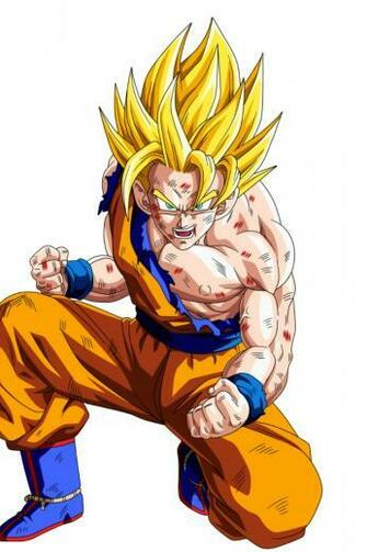 640x960 Son Goku Dragon Ball Z Iphone 4 wallpaper