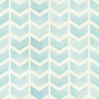 Faded Blue Chevron Removable Wallpaper 8 Feet by WallsNeedLove