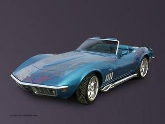 wallpapercommfrGMCorvette1969 corvette convertible wallpaper blue