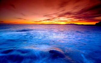 Gallery For gt Hd Ocean Sunset Wallpaper