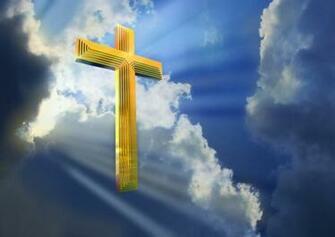 Jesus images jesus cross in heaven wallpaper photos 15495015