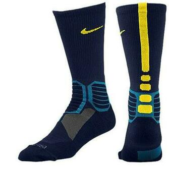 to Search Results Nike Hyper Elite Basketball Crew Socks   Mens