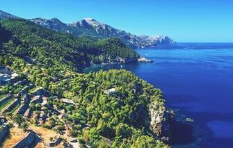 Wallpaper sea coast Spain Mallorca images for desktop section