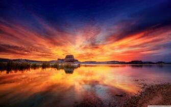 magical ocean sunset wallpaper 19202151200 beautiful ocean