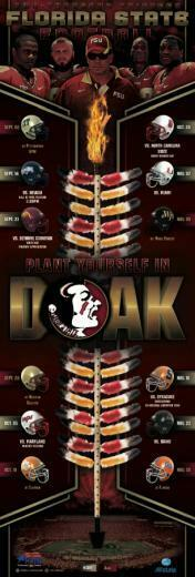 Fsu Football 2013 Wallpaper 2013 fsu football poster