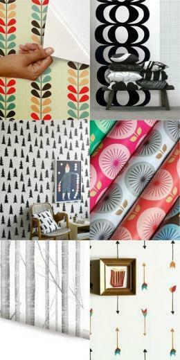 Removable Wallpaper Washi Tape Contact Paper Apartment Therapy