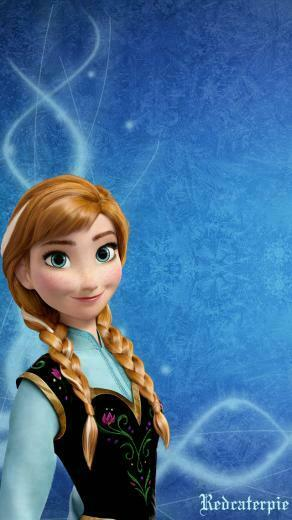 Disney Frozen Anna Iphone Wallpaper