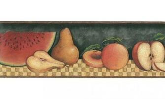 Home 30902310 Fruit Wallpaper Border