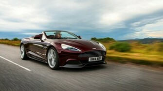 Aston Martin Vanquish Volante 2015 3840 x 2160 Download Close