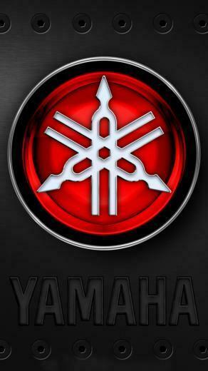 Yamaha Logo Wallpaper for iPhone 6 Plus