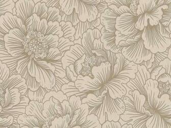 Flourish Cream Gold Floral Wallpaper   FREE Delivery