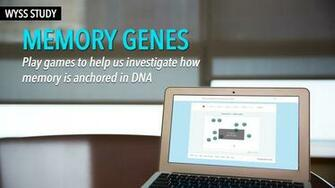 Personal Genome Project Memory Challenge