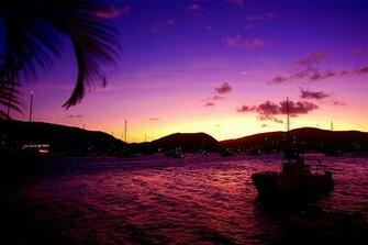 Caribbean Island Sunset Desktop Backgrounds for HD Wallpaper
