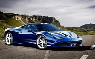 Ferrari 458 Italia Speciale azul Wallpapers gratis   Imagenes