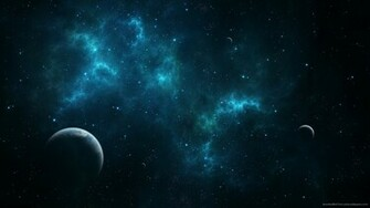 1920x1080 Deep Blue Space Wallpaper