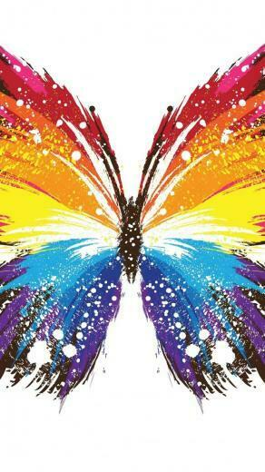 Butterfly   Abstract art   Colorful Colourful Life   Group Board