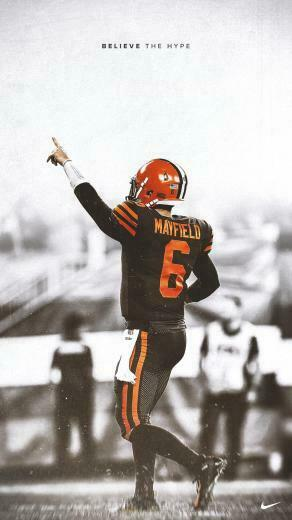 Victory Wallpaper 1 Baker Mayfield Browns