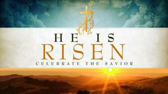 Happy Easter Jesus Resurrection Risen Hd Wallpaper Background