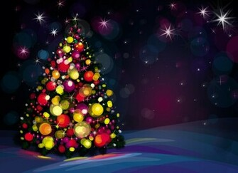 Beautiful Christmas Tree Wallpapers 10