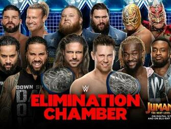 Elimination Chamber 2020 gets its second Elimination Chamber match