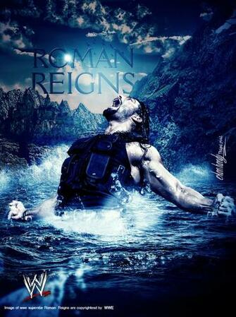 Roman Reigns by EslamHam on deviantART