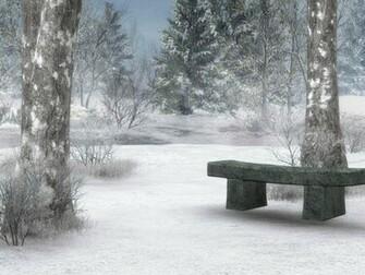 Winter Scene Screensavers wallpaper wallpaper hd background