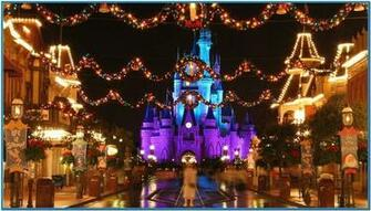 Disney world christmas screensavers   Download